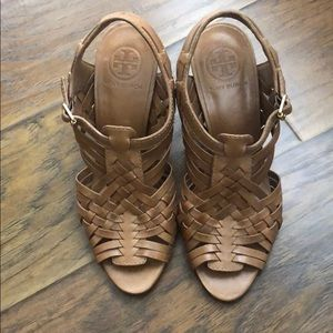 TORY BURCH sandals sz 7
